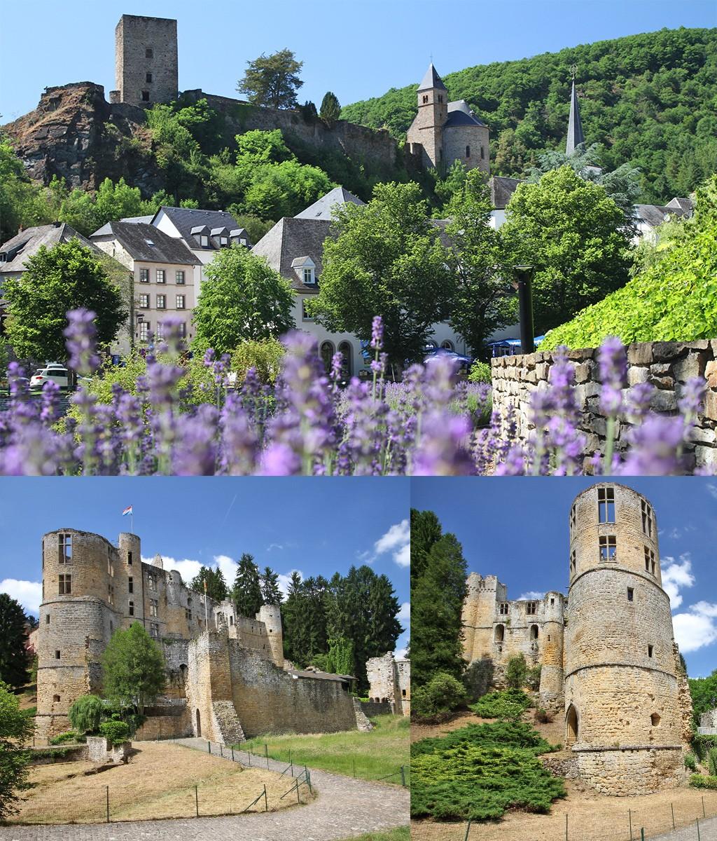 2 van de mooiste kastelen Luxemburg