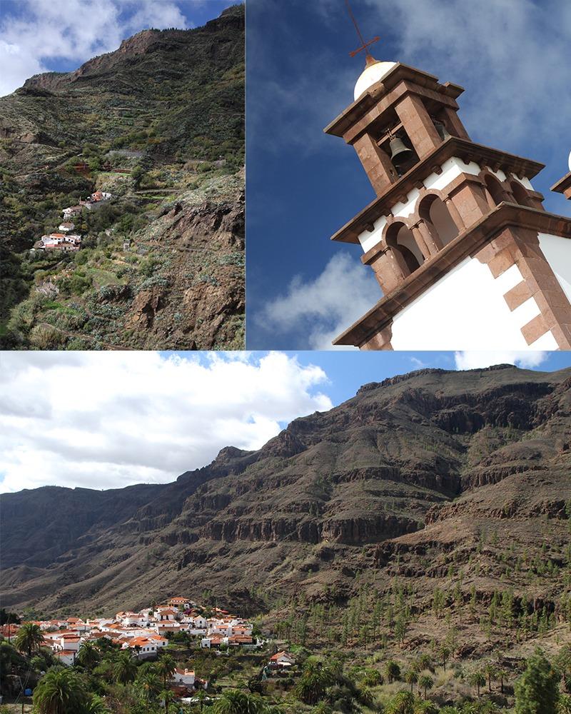 Gran Canaria bergdorpjes
