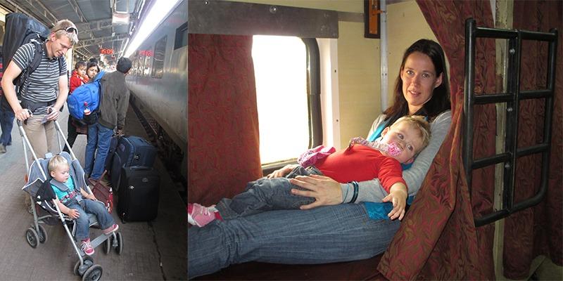 Treinreis met Kinderen
