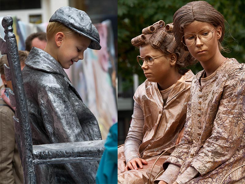 World Living Statues Kids