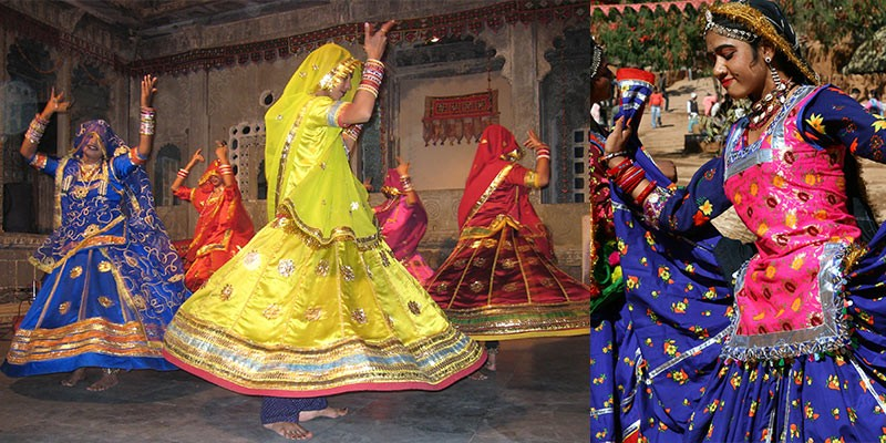 India kleurrijke mensen