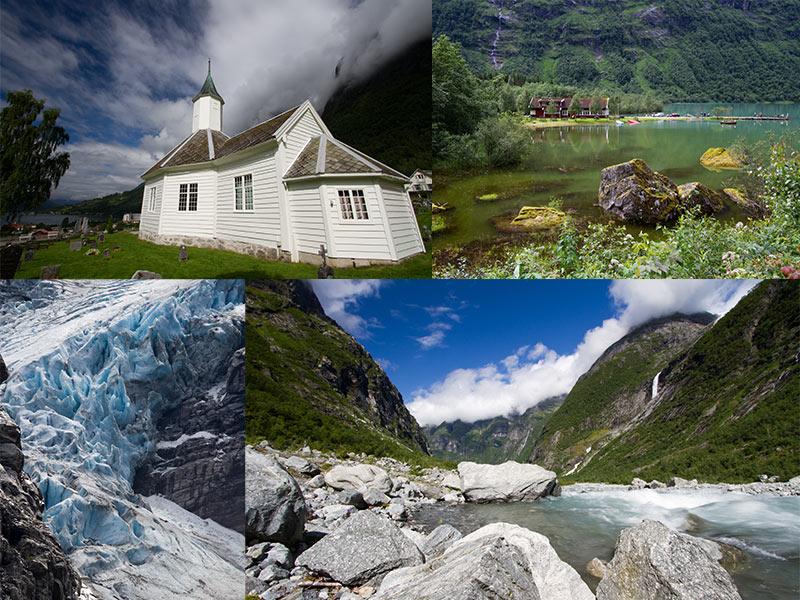 Nordfjord Noorwegen