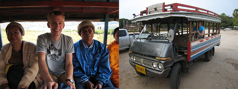 Thailand songthaew