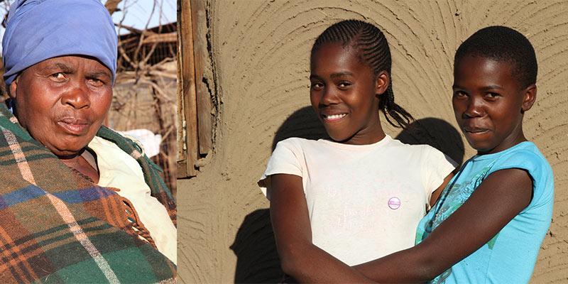 welkom in Zulu dorpje
