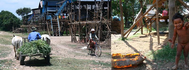 Kampong Phluk dagelijks leven