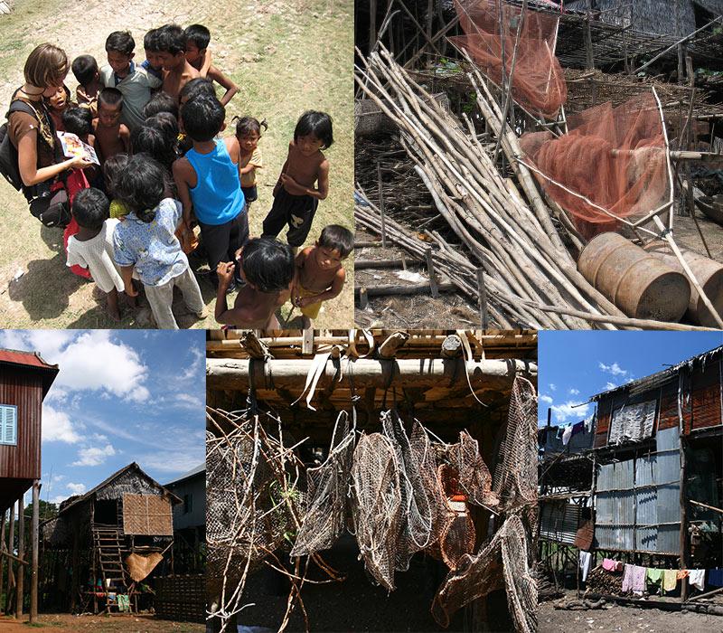 Kampong Phluk droge seizoen