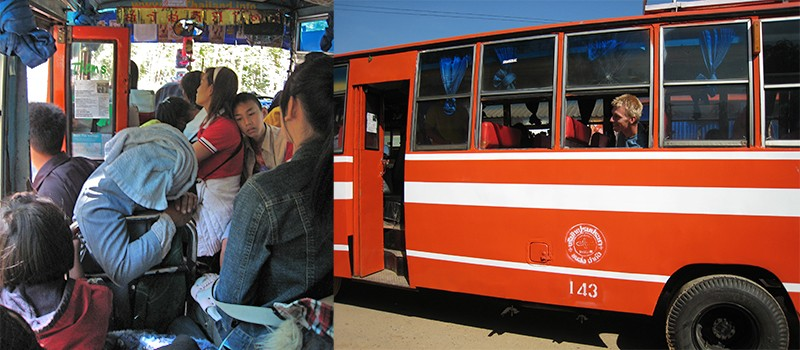 bus Mae Hong Son Loop