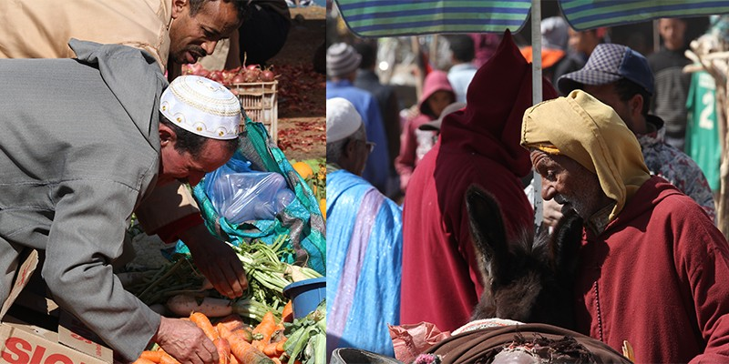 markt Marokko