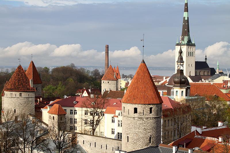 Tallinn vanaf Toompea
