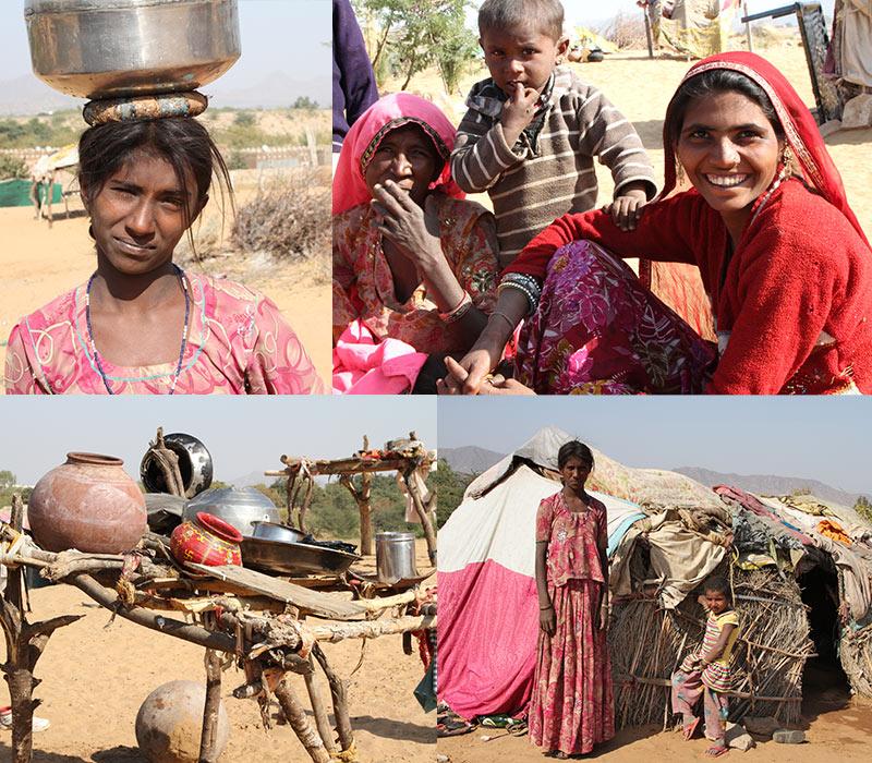 Thar woestijn bij Pushkar