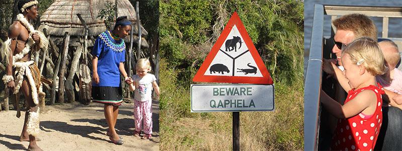 Zien en doen Zuid-Afrika met kinderen