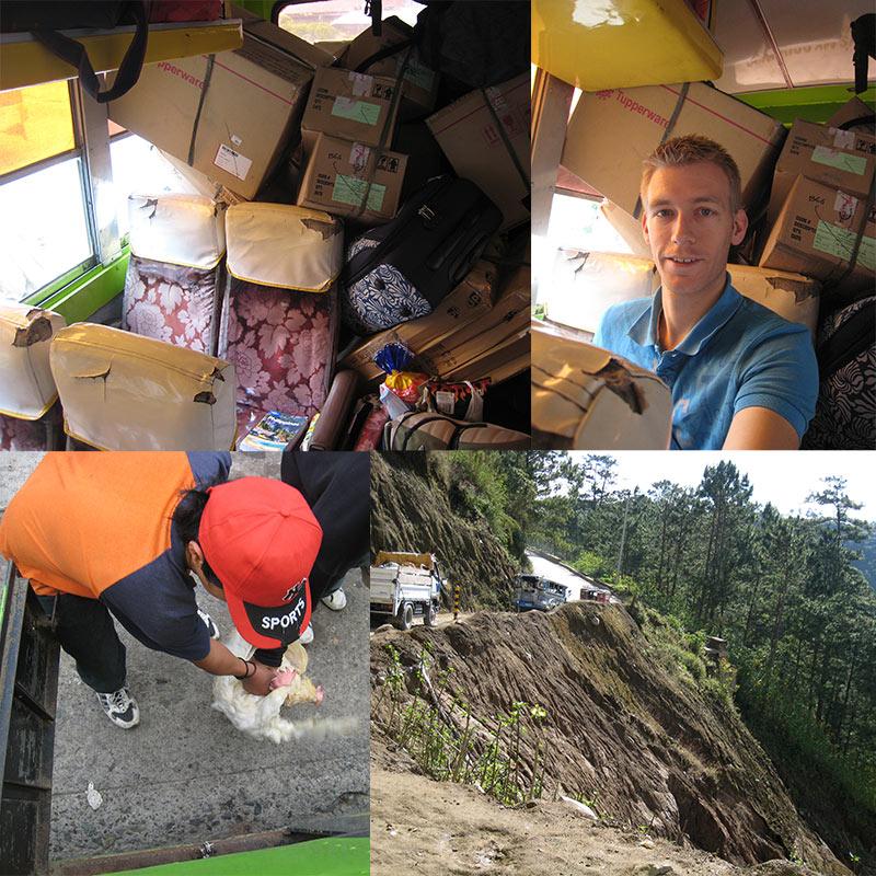 bus Baguio naar Bontoc