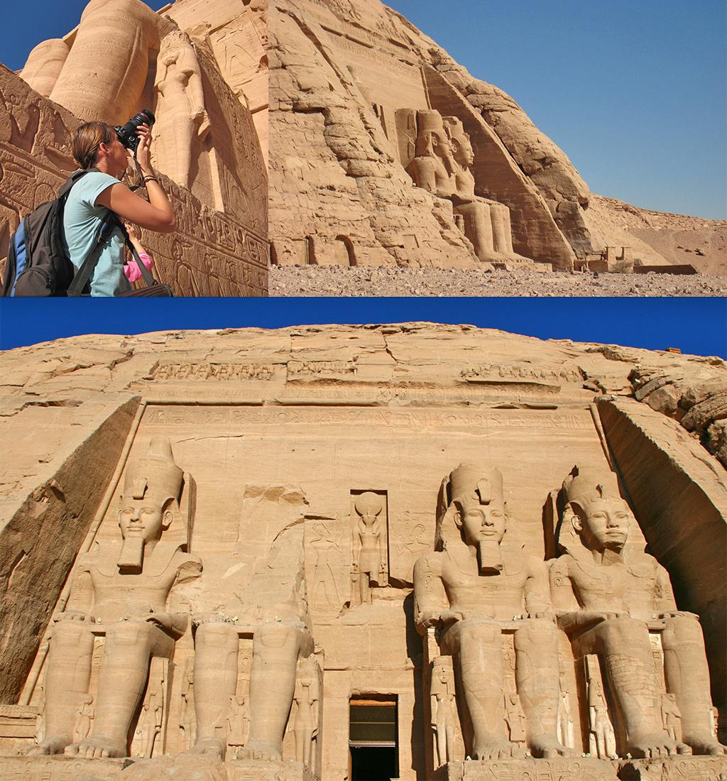 Abu Simbel Ramses tempel