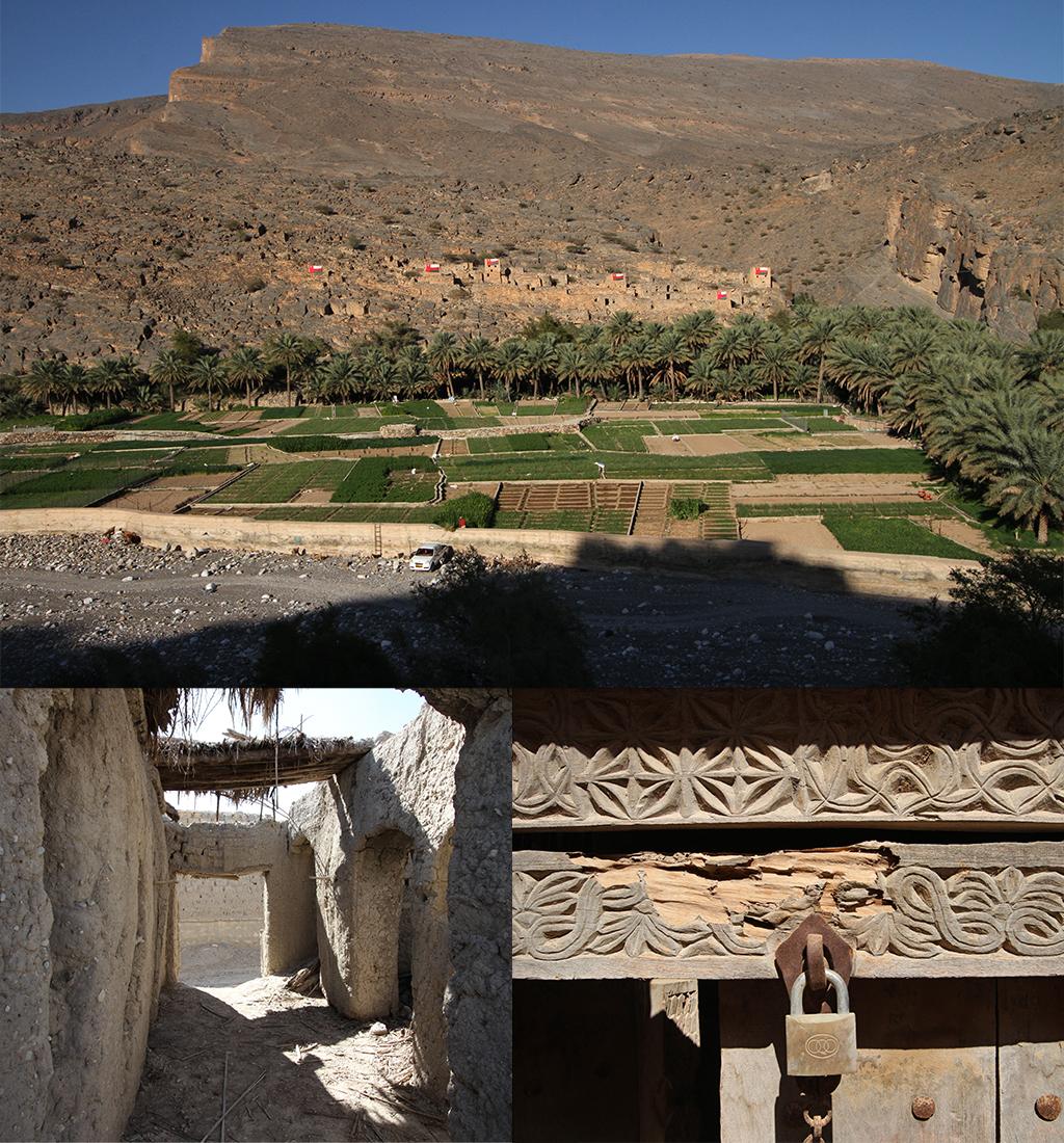 Al Hajir - op de weg naar Jebel Shams