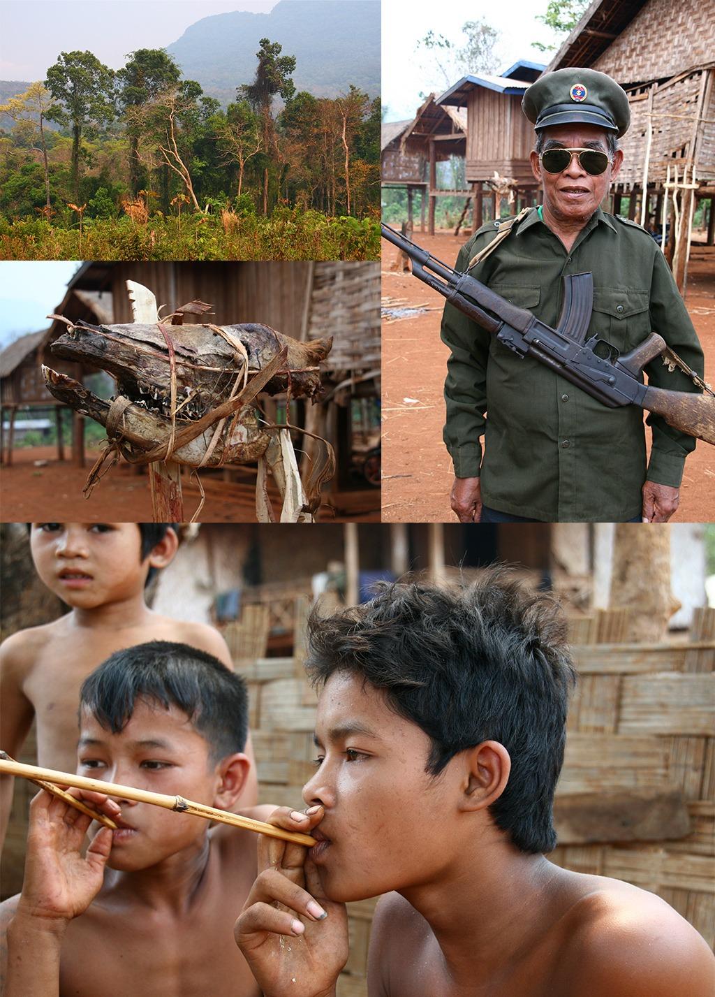 Alak dorp bij Sekong