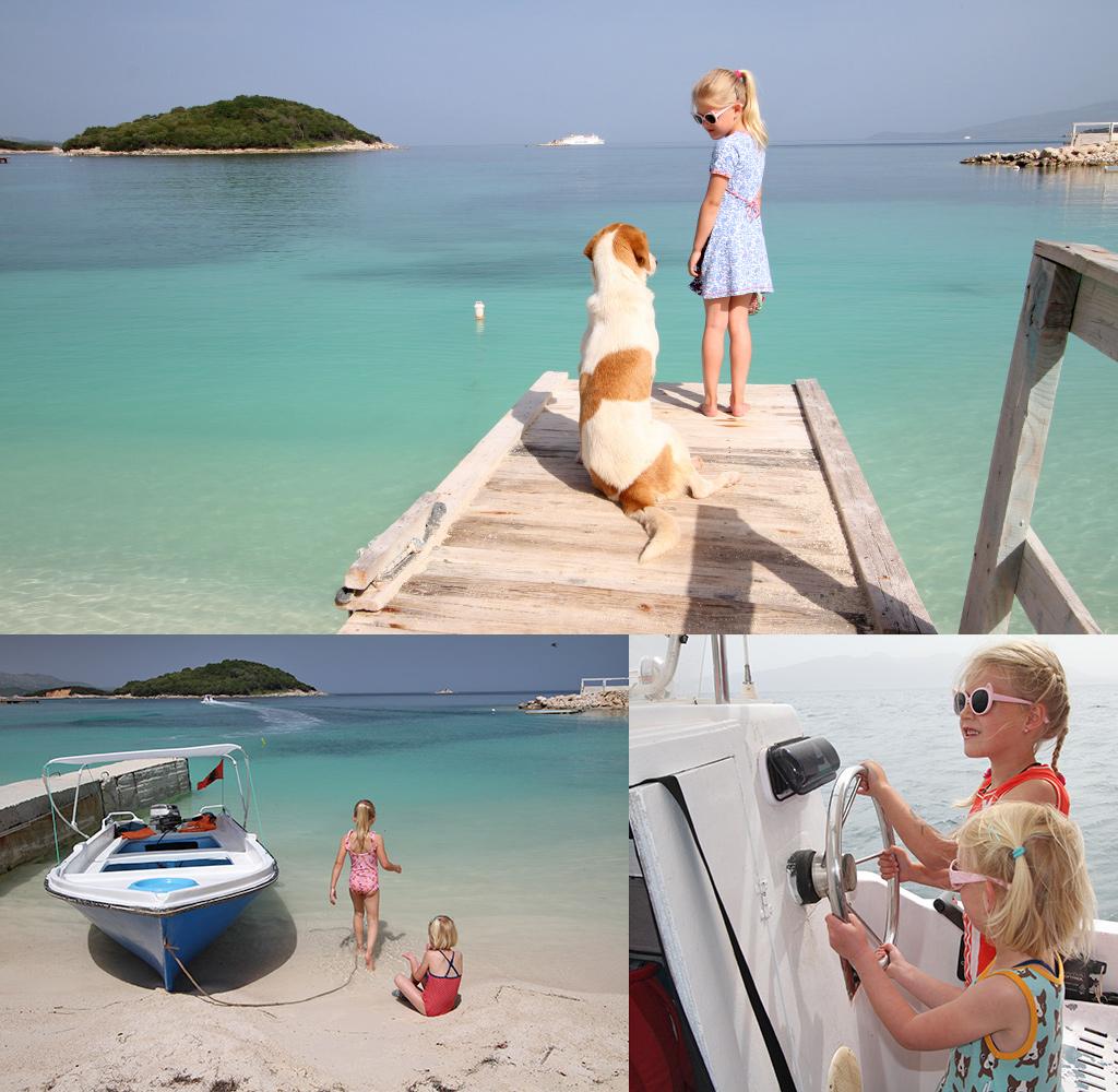 Albanië met kinderen - strand
