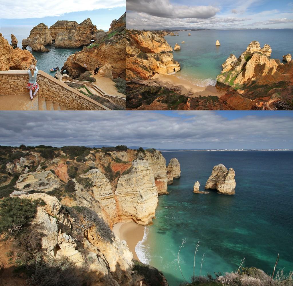 Algarve bezienswaardigheden strand en kust