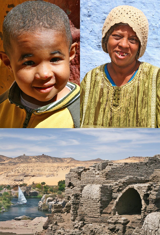 Aswan aankomst