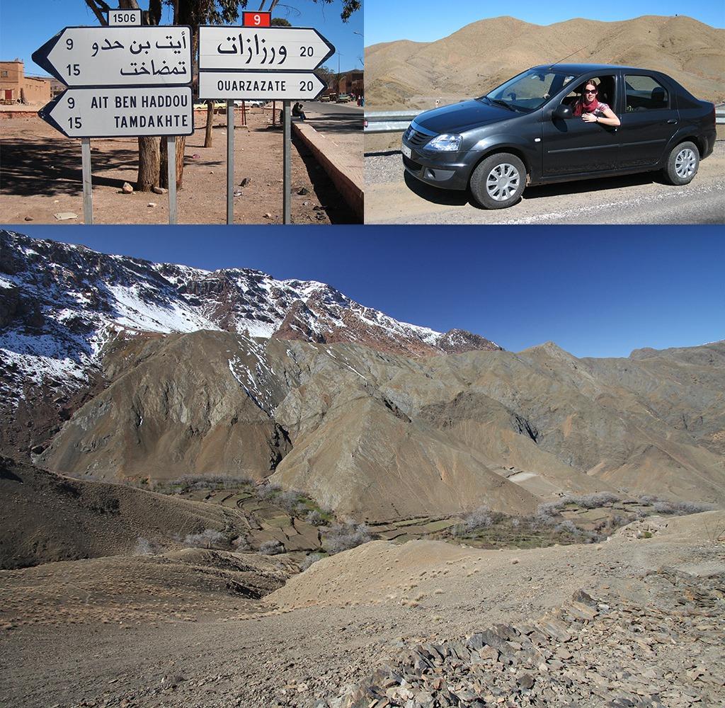 De hoge Atlas oversteken is een hoogtepunt van een rondreis Marokko
