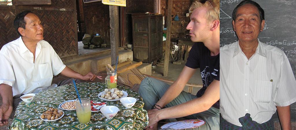Bagan ontmoeting meneer Thaung