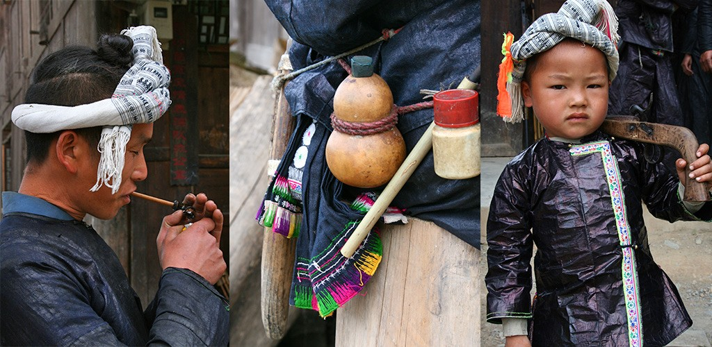 Baisha Miao of Hmong dorp