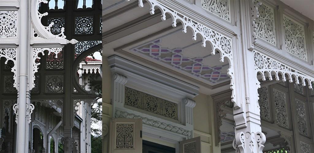 Bangkok Vimanmek-mansion palace