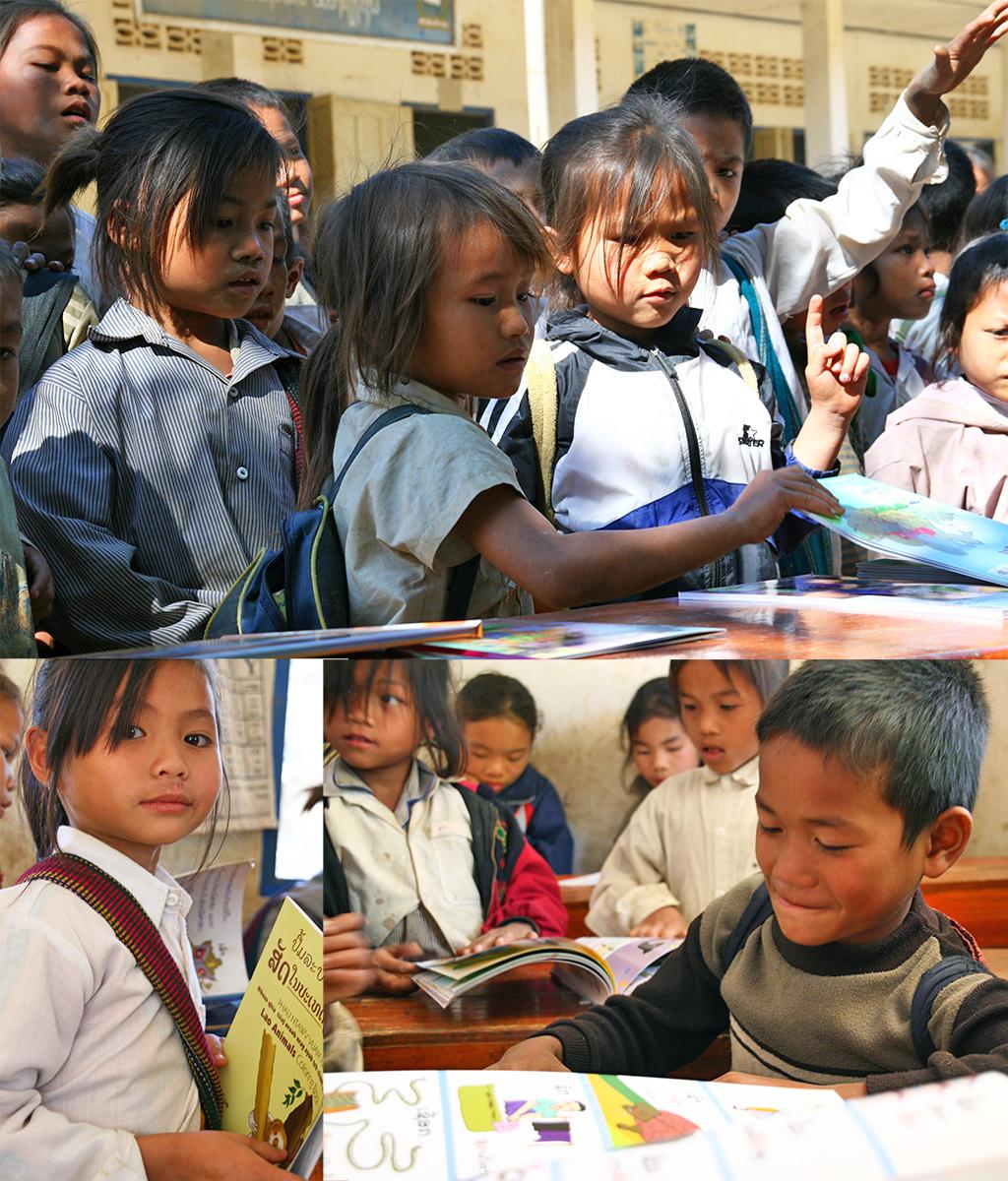 Big Brother Mouse Luang Prabang