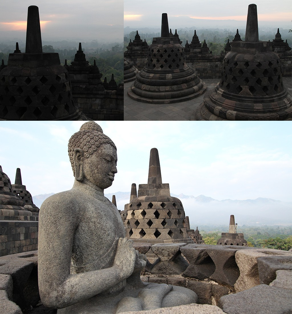Borobudur zonsopkomst the real thing