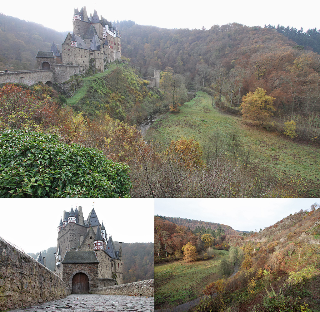 Burg Elzt in de herfst