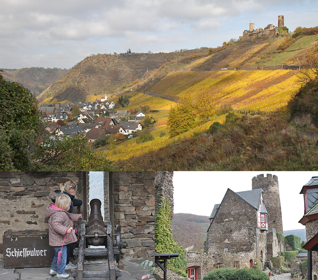 Burg Thurant in de herfst