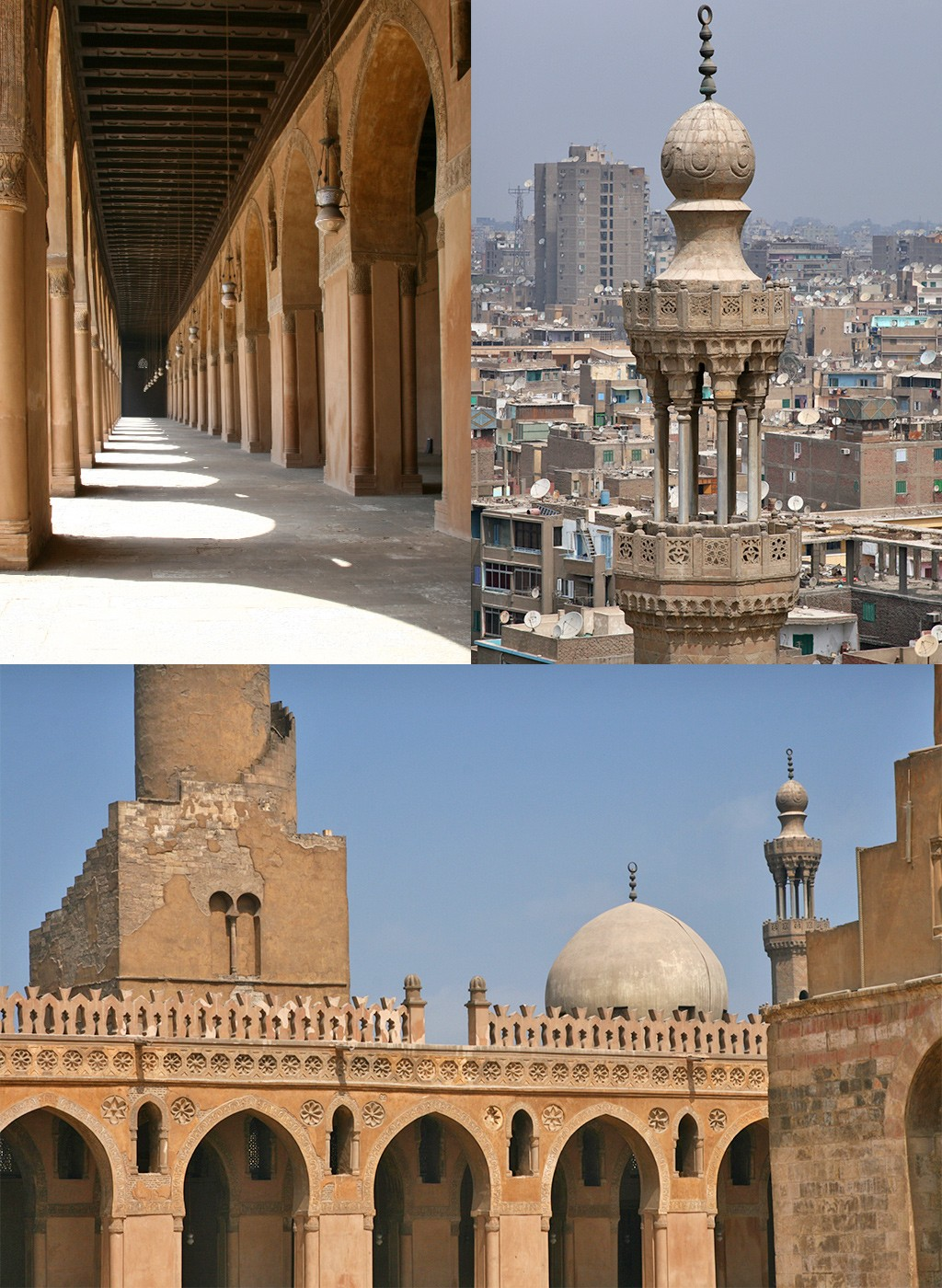Caïro Ibn Tulun moskee
