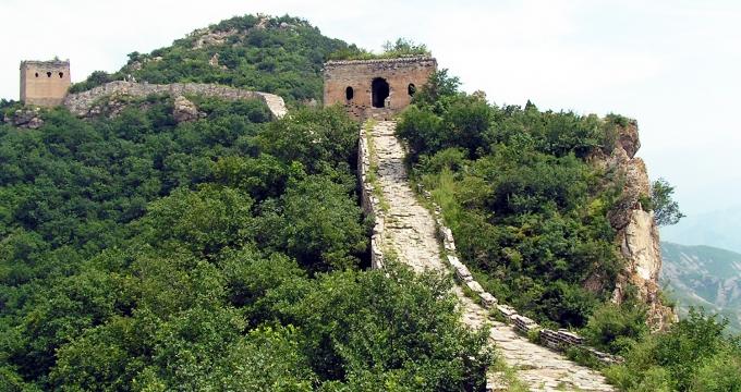 Chinese muur alternatieven voor Badaling