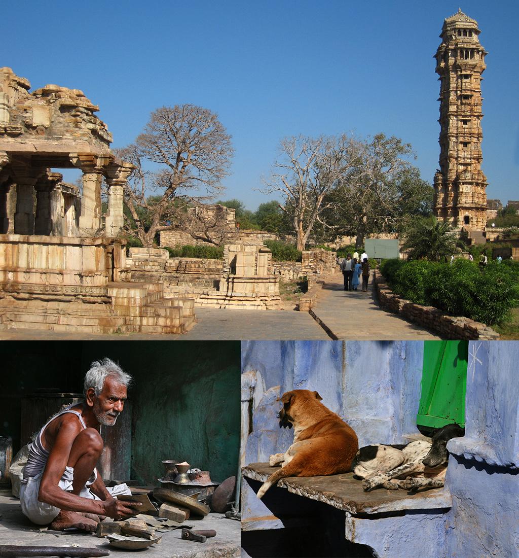 Chittorgarh en Bundi Rajasthan