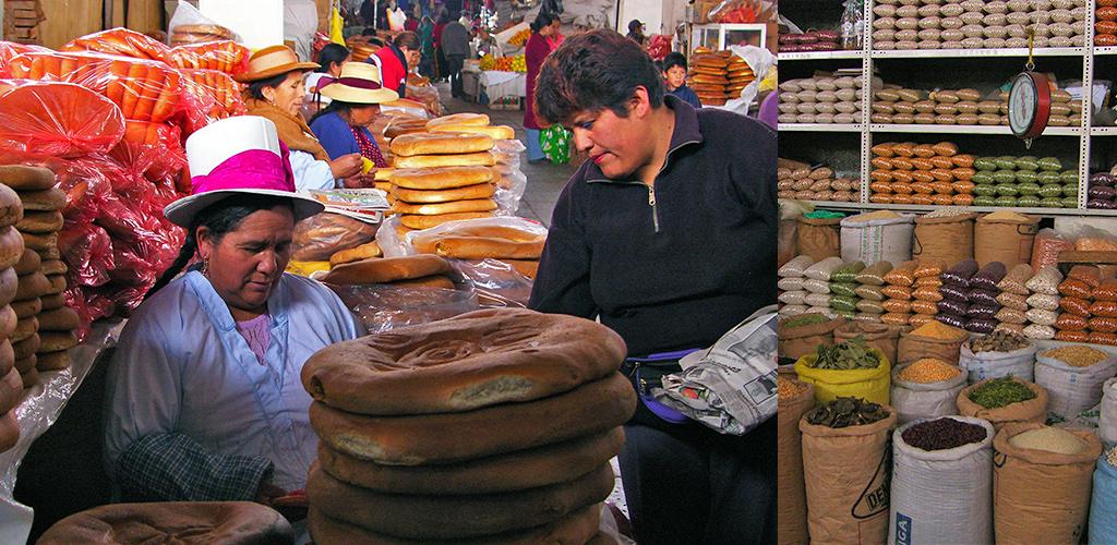 Cusco centrale markt