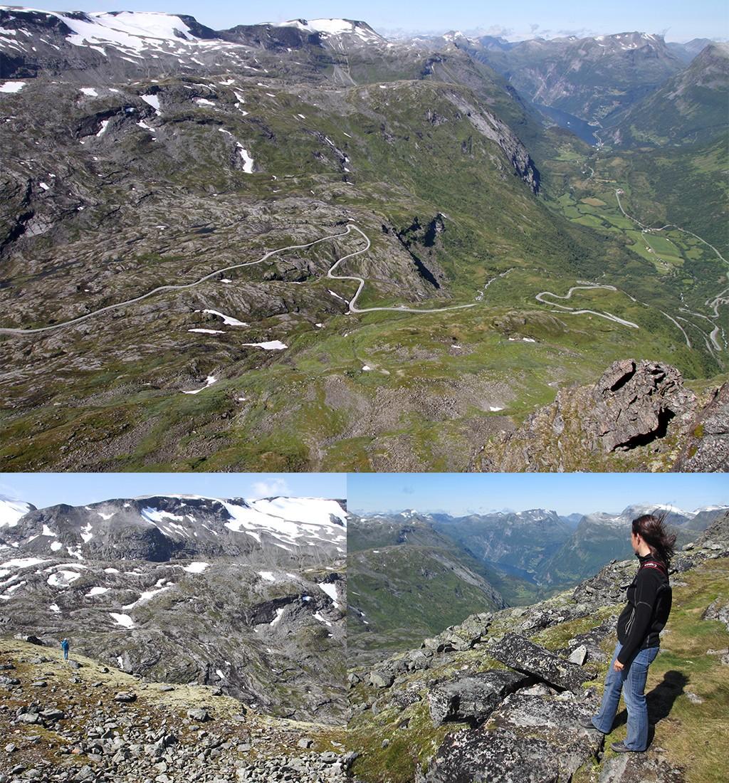 Dalsnibba - fjorden Noorwegen