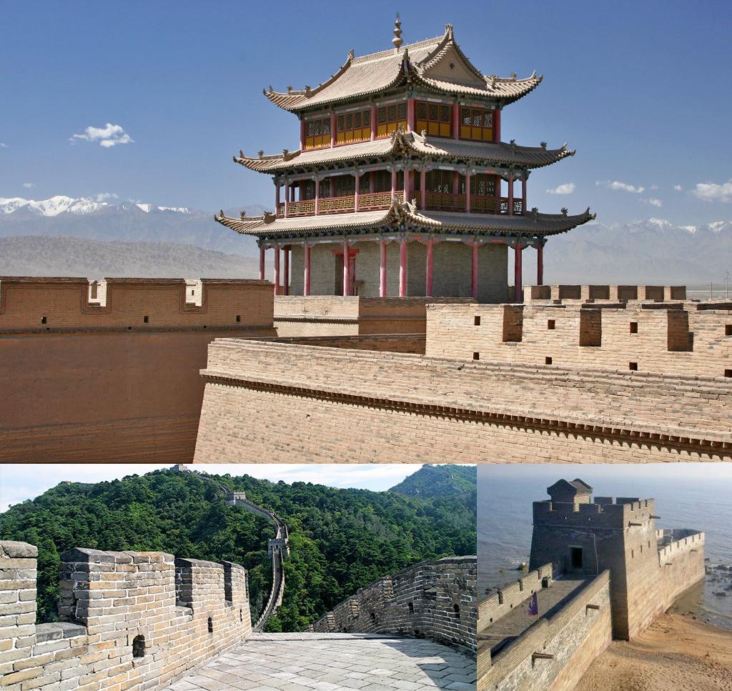De Chinese muur heeft vele gezichten