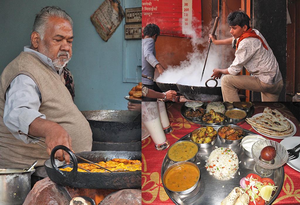 Delhi Belly voorkomen - eet waar het druk is