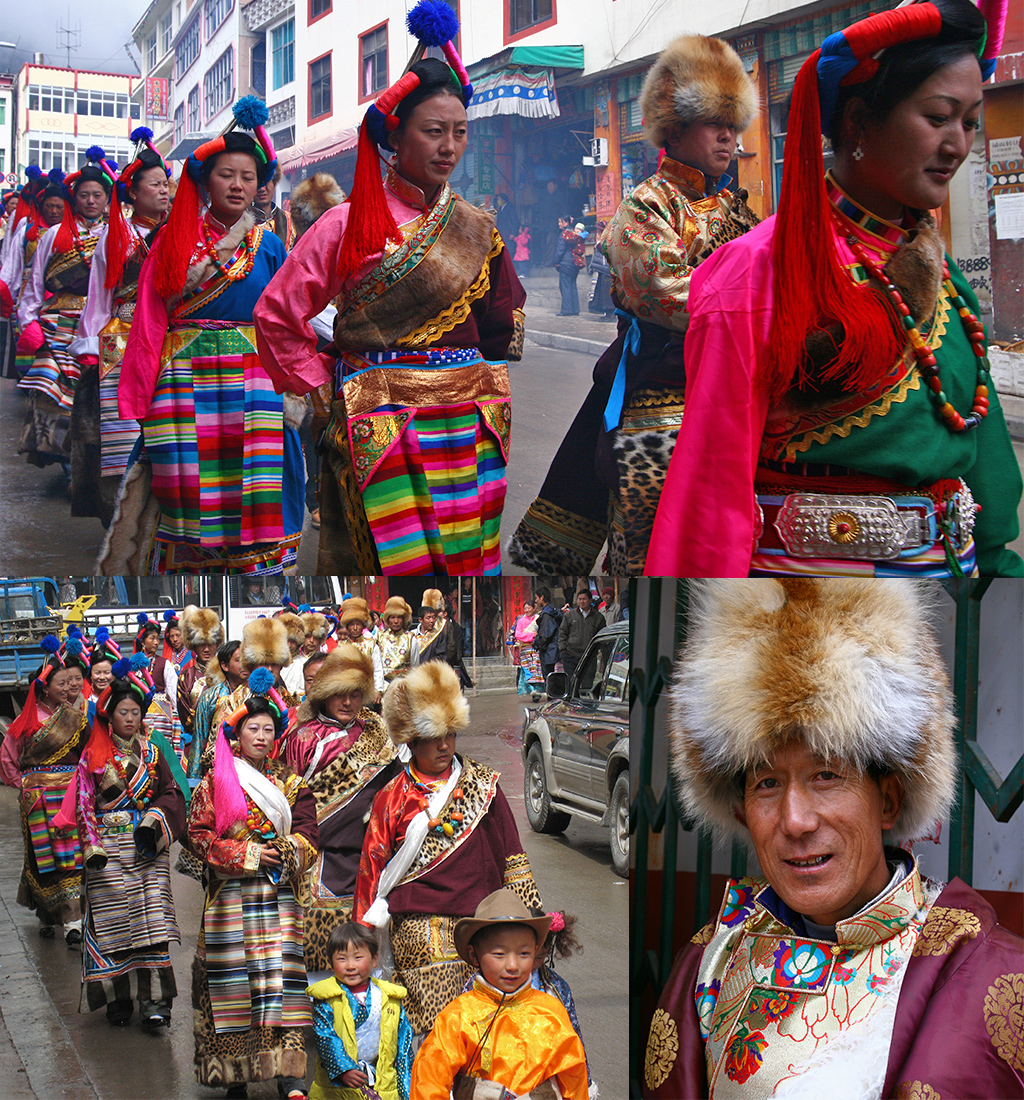 Deqin Tibetaanse bruiloft