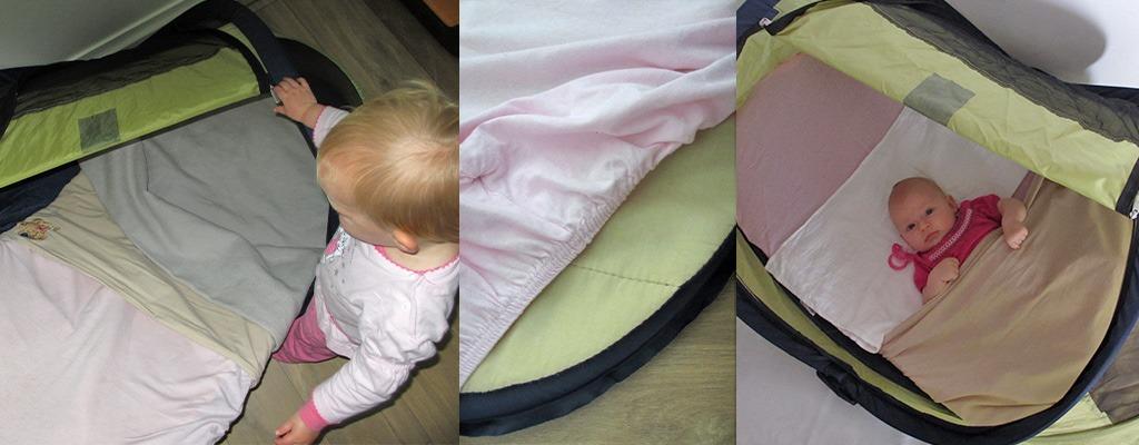 Deryan Travel-Cot Baby aanpassingen