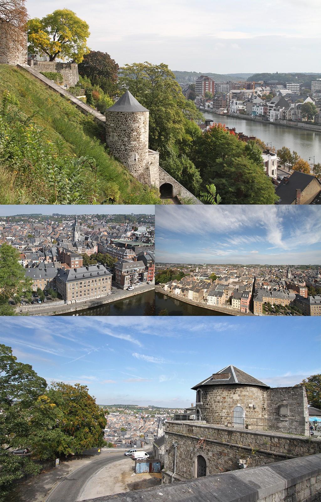 Dinant en Namen in foto's - Citadel Namen