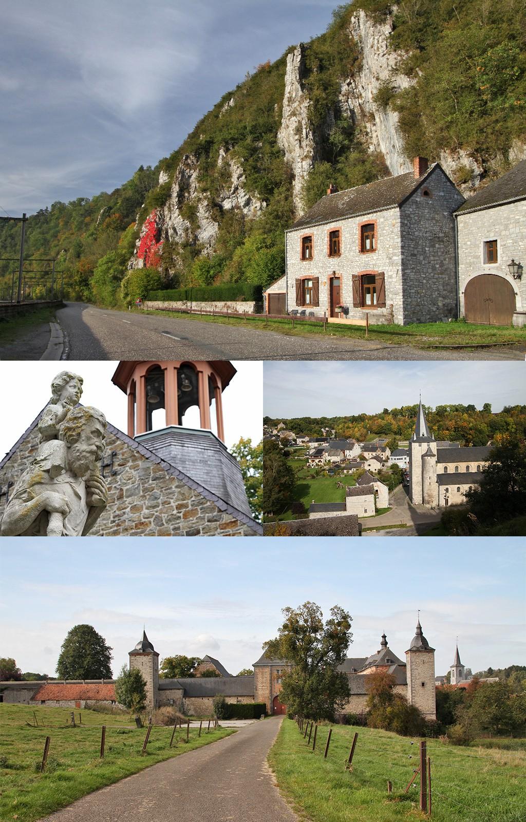 Dinant en Namen in foto's - omgeving
