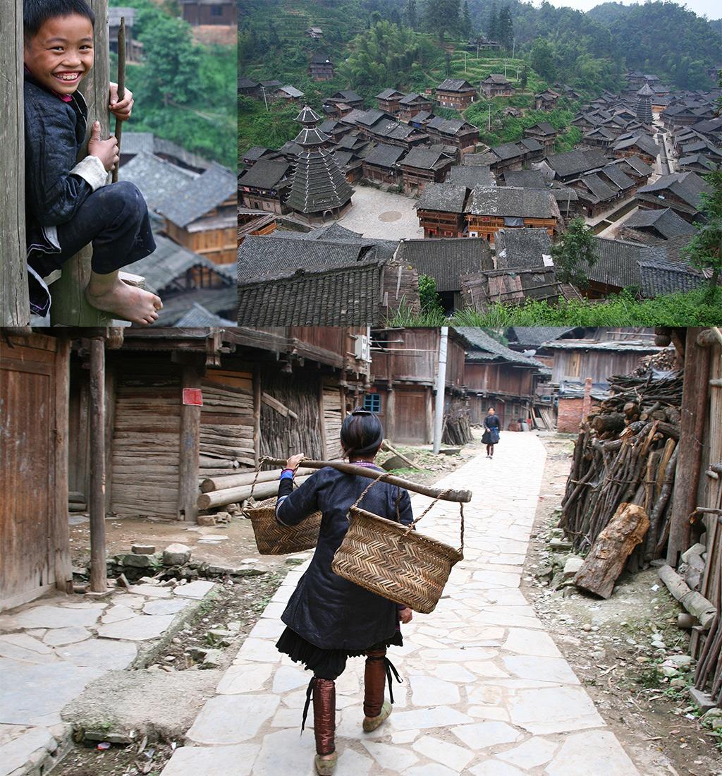 Dong dorp Yintan