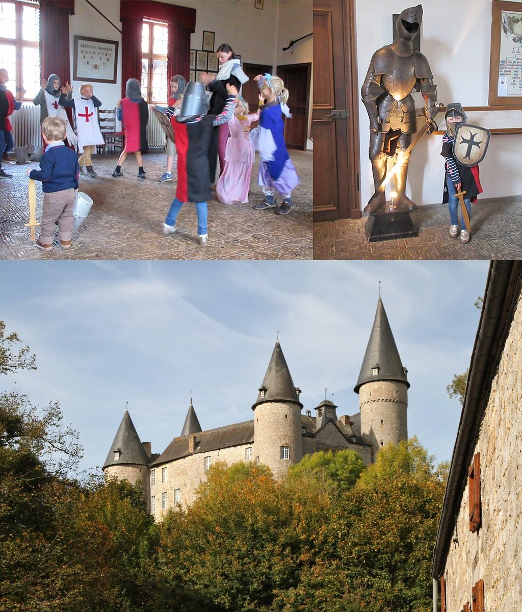 Doornroosje kasteel bij Dinant