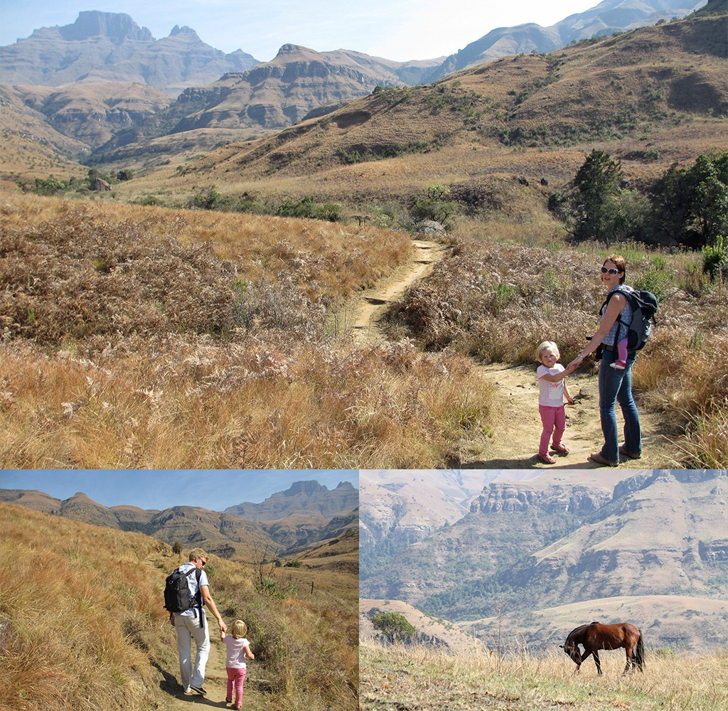 Drakensbergen wandelen
