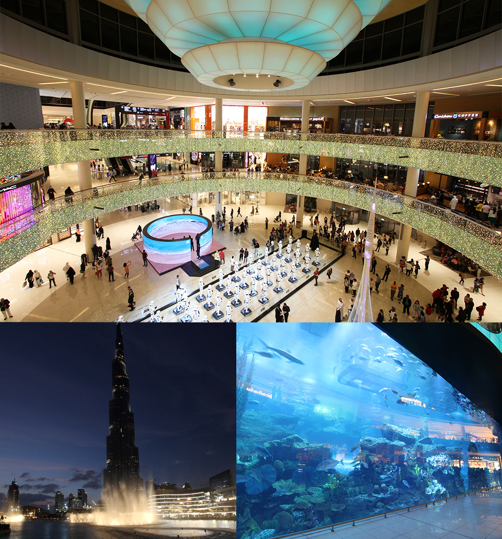 Dubai met een klein budget - Dubai Mall