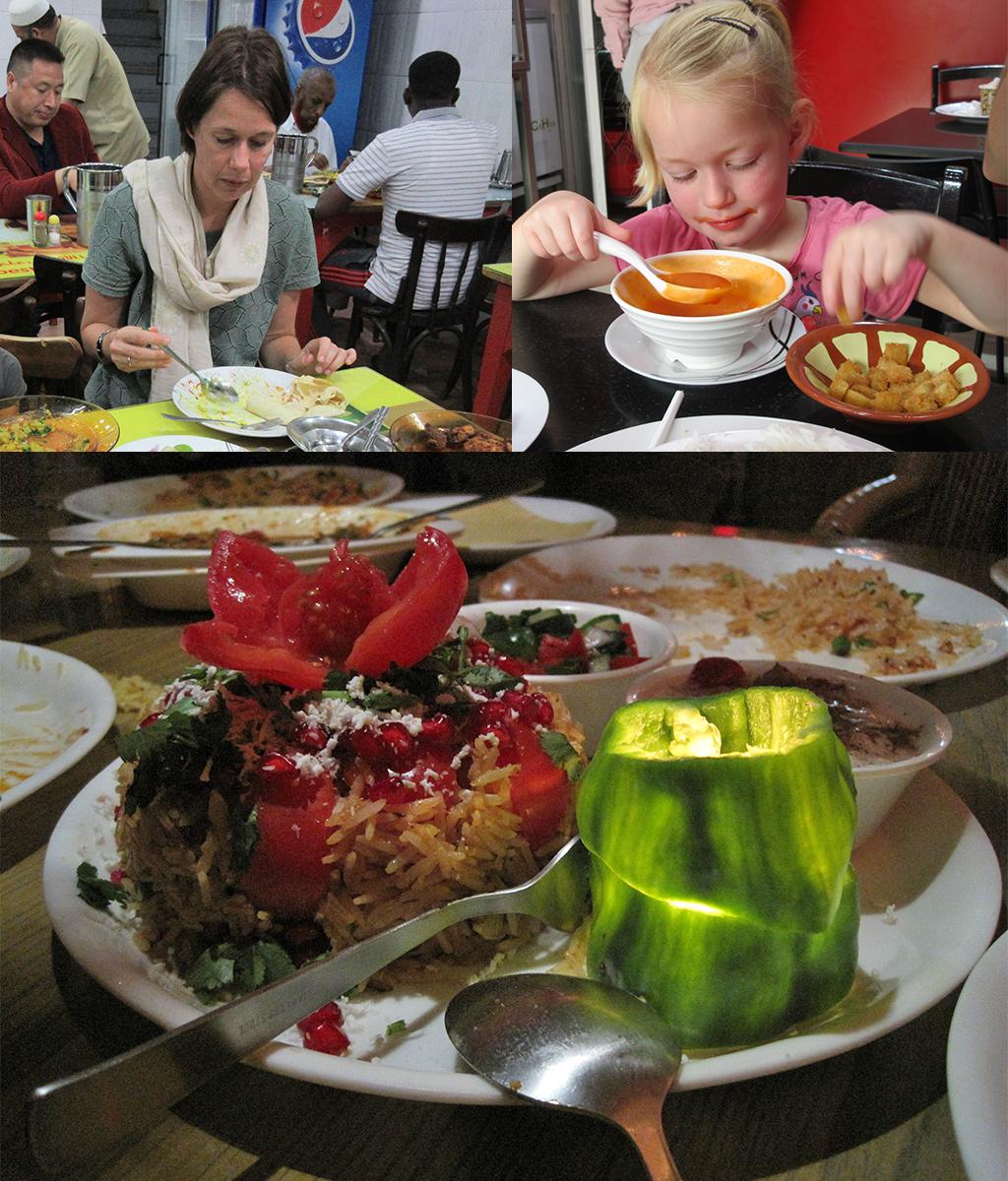 Dubai met een klein budget eten