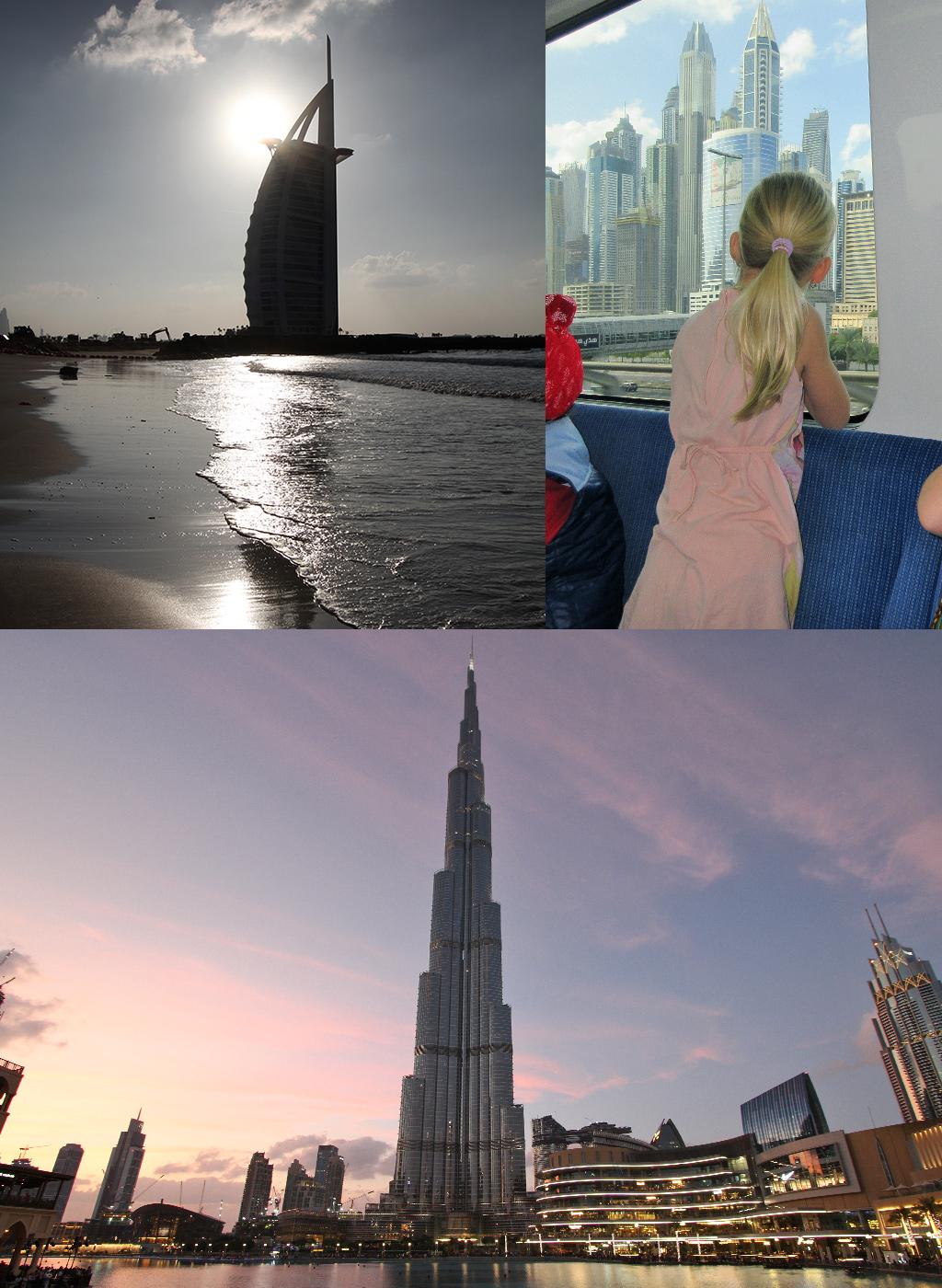 Dubai met klein budget met ov