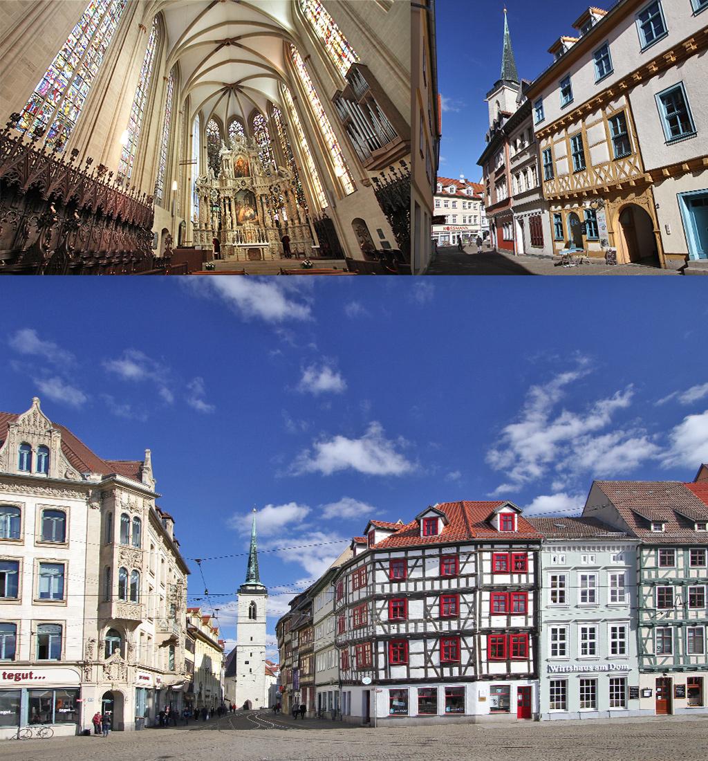 Erfurt geschiedenis