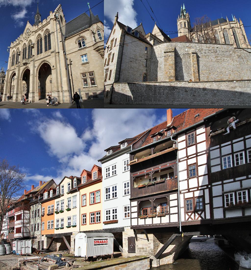 Erfurt statige gebouwen