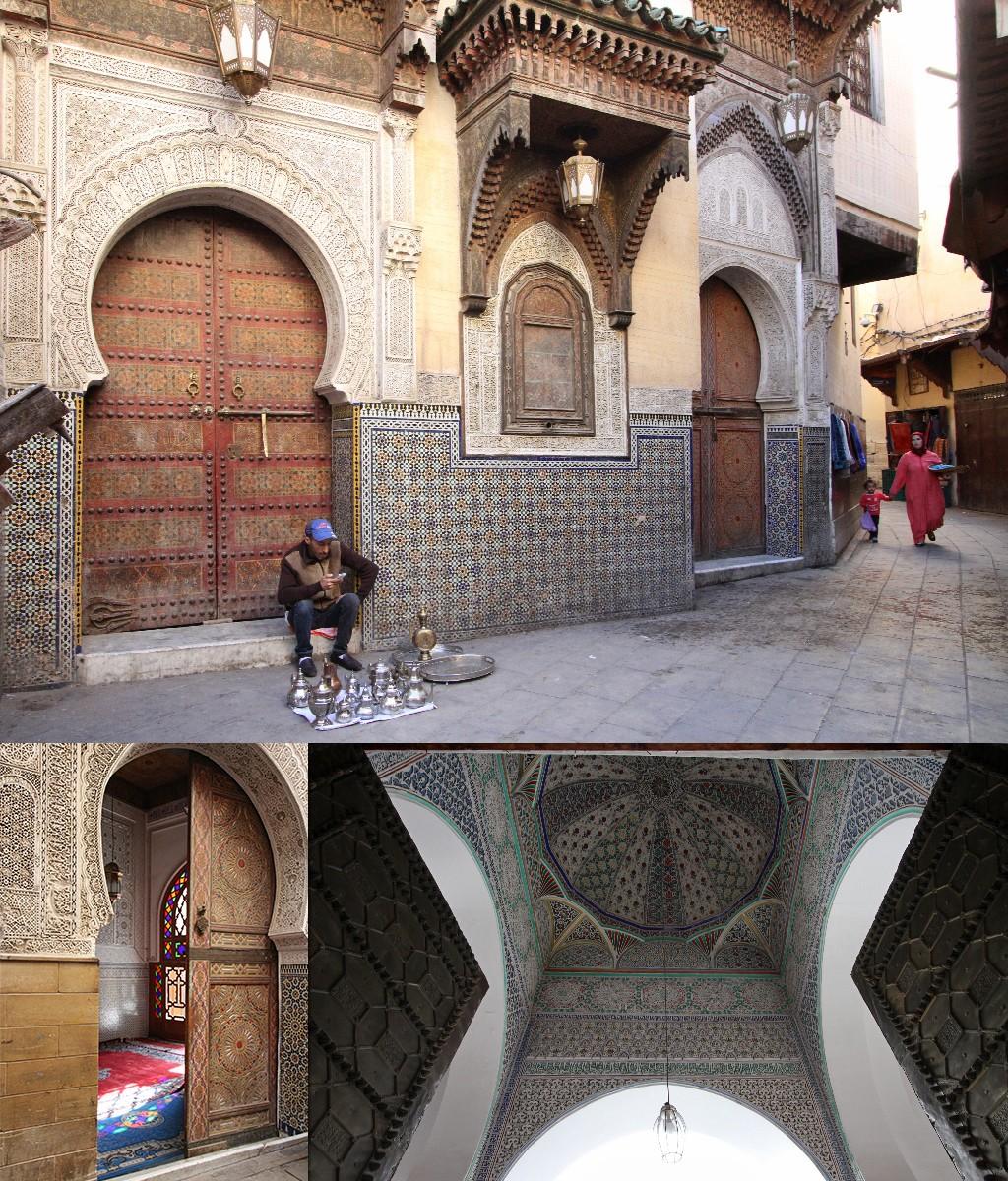 Fez bezienswaardigheden - Al Qarawiyyin